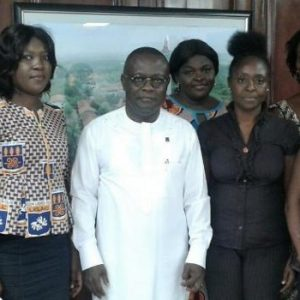 LELAC Executives Pay Courtesy Call On Vice-Chancellor